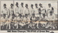 1982 Major State Champions