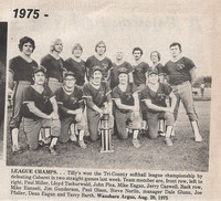 1975 Tilly's Tri County League
